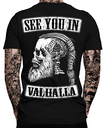 See You IN Valhalla T-Shirt Ragnar Lothbrok Männer