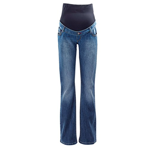 2 Hearts Umstands-Jeans Bootcut dunkelblau