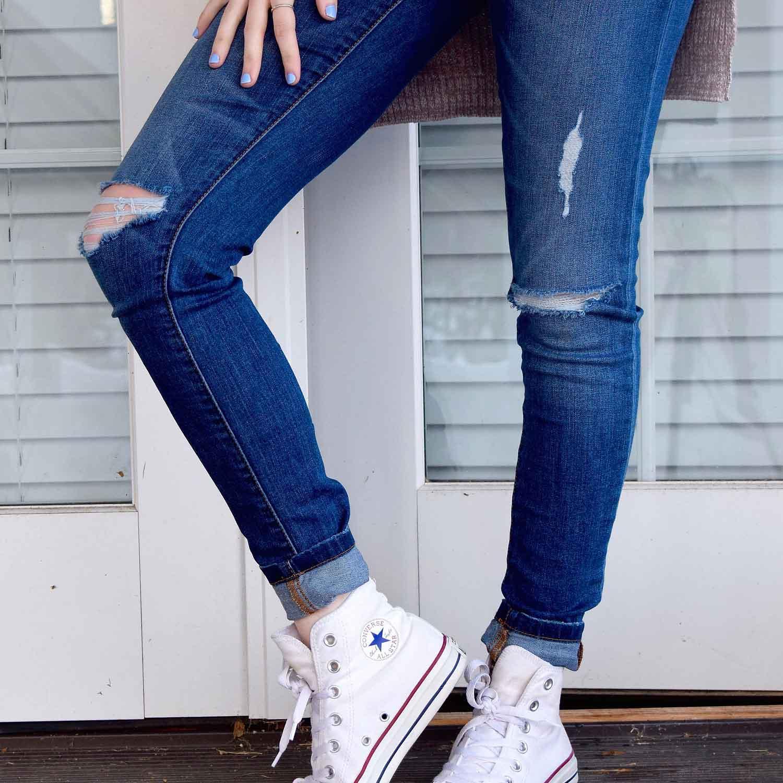 Damenjeans für große Frauen Welche Jeans macht eine gute