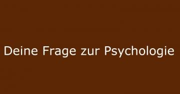 psychologie fragen
