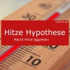 hitze hypothese macht hitze aggressiv