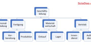 organigramm merkmale von organisationen