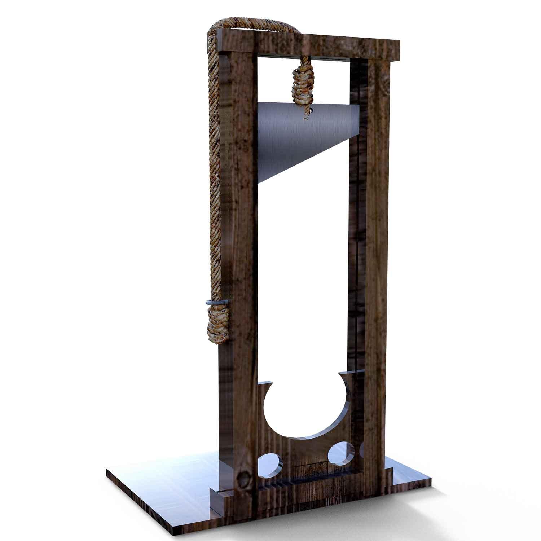 wann wurde die guillotine erfunden?