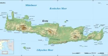 kreta-physische-karte